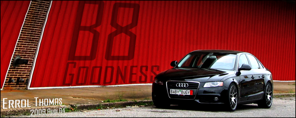 B8 Goodness | Errol's B8 A4 – Content for Wolfsburg Automotive